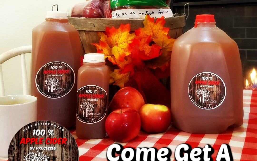 It's Cider Season!